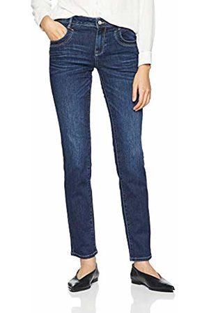 Tom Tailor (NOS) Women's Streight Leg Jeans Mit Weitem Bein Alexa, Gewaschen Slim