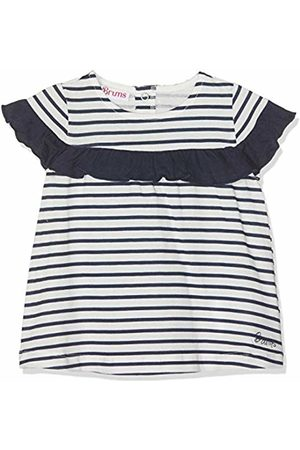 Brums Baby Girls Abito Jersey Rigato Con Rouches Dress