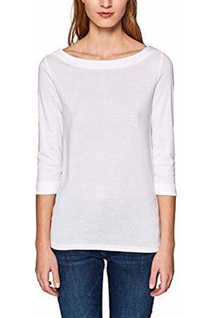 Esprit Women's 999ee1k800 Long Sleeve Top, ( 100)