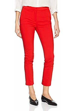 Springfield Women's 4.Gym.ap.Chino Smart Coral Trouser