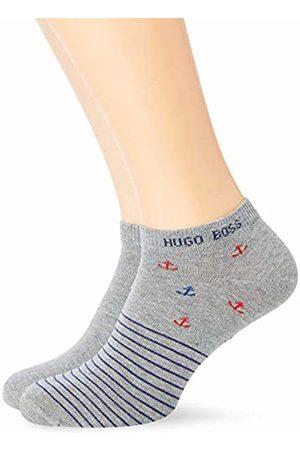HUGO BOSS Men's 2p As Anchor Cc Calf Socks, ( 040))