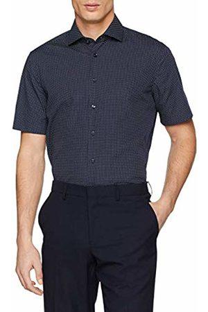 Seidensticker Men's Tailored Langarm Mit Kent Kragen Soft Gepunktet Formal Shirt