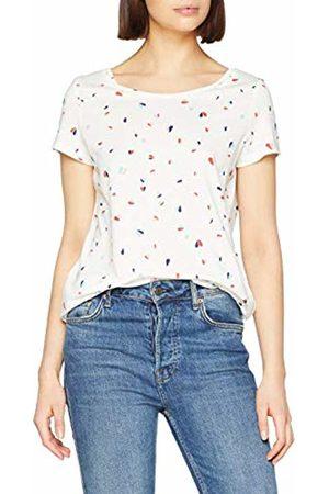 Esprit Women's 019ee1k025 T-Shirt, ( 110)