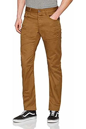 Enzo Men's EZ382 Straight Jeans, Tan