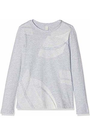 Esprit Kids Girl's Long Sleeve Tee-Shirt Top, (Heather 223)