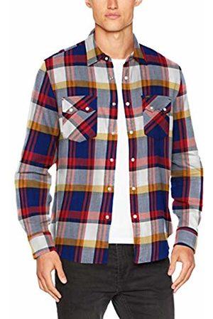 Lee Men's Rider Shirt Casual, (Blueprint Lh)