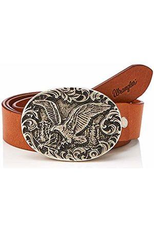 Wrangler Women's Eagle Belt (Cognac 181)