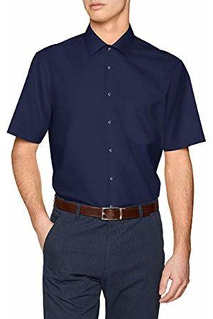 Seidensticker Men's Tailored Kurzarm Mit Kent Kragen Bügelfrei Formal Shirt