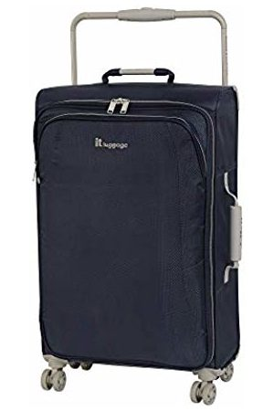IT Luggage World's Lightest New York 8 Wheel Super Lightweight Suitcase, 70 cm