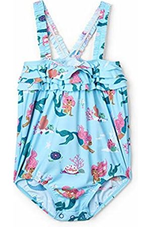 Hatley Baby Girls' Ruffle Swimsuits, (Mermaid Tales)