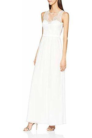 Vera Mont Women's 0202/3030 Dress, (Ivory 1040)
