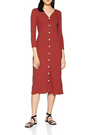 Springfield Women's 7.0.franq.Vestido Canalé Botones Dress