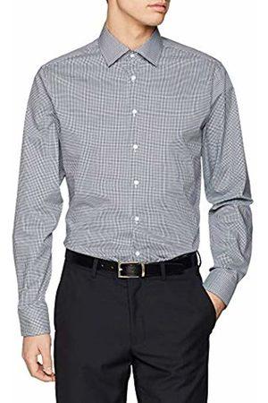 Seidensticker Men's Tailored Langarm Mit Kent Kragen Bügelfrei Kariert Formal Shirt