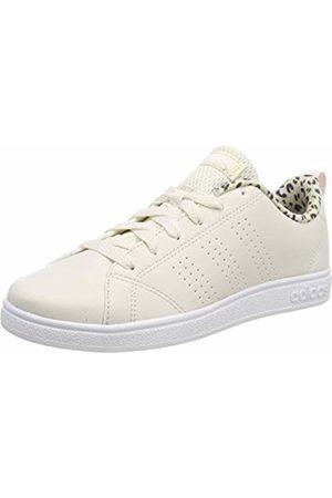 adidas Unisex Kids' Vs Advantage Cl K Tennis Shoes, Bianco Raw FTWR