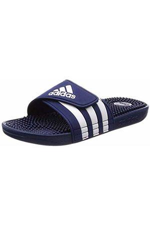 adidas Unisex Adults' Adissage Beach & Pool Shoes, Blu FTWR /Dark