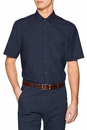 Seidensticker Men's Modern Langarm Mit Kent Kragen Soft Gepunktet Formal Shirt