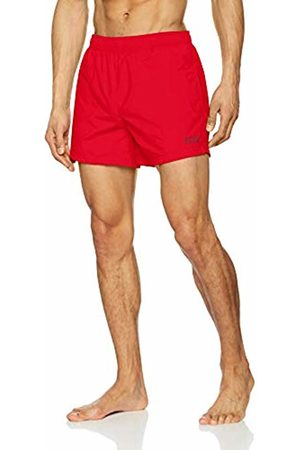 HUGO BOSS Men's Perch Swim Trunks, (Bright 621)