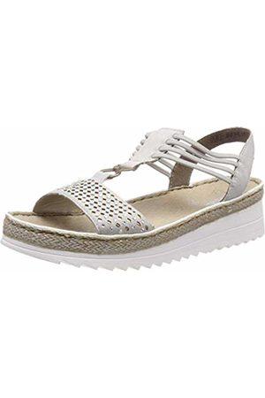 Rieker Women's V3285-40 Platform Sandals