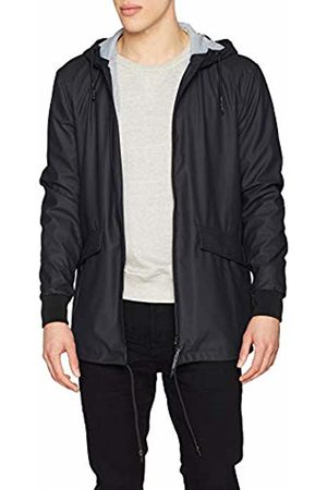 Only & Sons Men Rainwear - Men's Onsaland Rain Jacket OTW Dark Navy