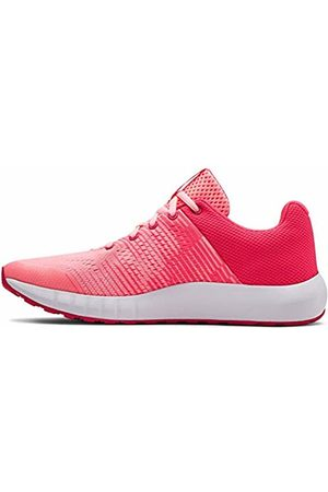 Under Armour Girls Shoes - Girls' Grade School Pursuit NG Running Shoes, Penta Pop 600