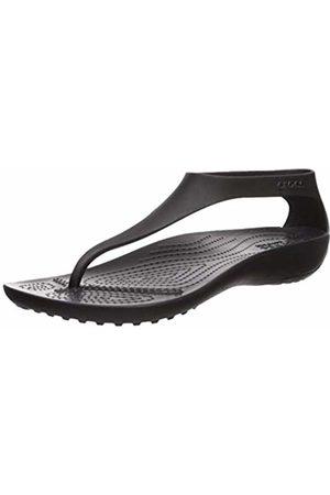 Crocs Women's Serena Flip Women Heels Sandals