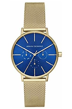 Armani Womens Analogue Quartz Watch with Stainless Steel Strap AX5554