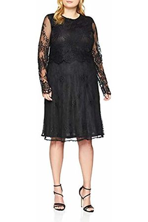 Lost Ink Women's Dress with Scallop and LACE Party ( 0001)