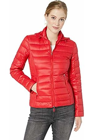 Armani Women's Zip Up Down Bomber Jacket