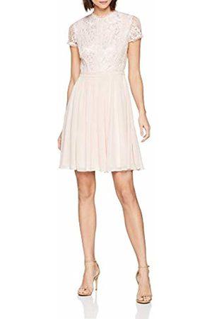 Vera Mont Women's 2568/5000 Dress, (Cloud 4006)
