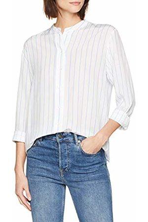 Seidensticker Women's Stehkragenbluse Langarm Modern Fit Gestreift Blouse