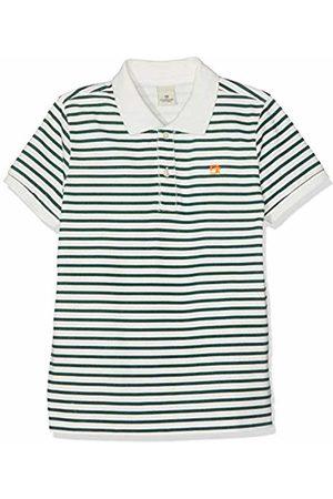 Scotch&Soda Shrunk Boy's Garment Dyed Polo in Pique Quality Shirt