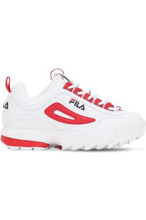 Fila Disruptor Cb Faux Leather Low Sneakers