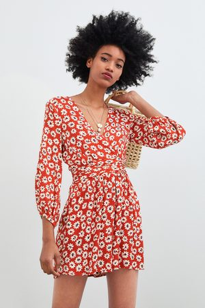 0eedd2a476a Zara collection look women s printed dresses