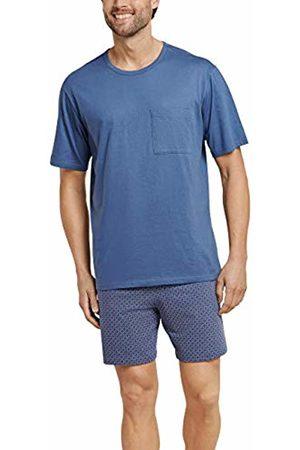Schiesser Men's Essentials Anzug Kurz Pyjama Set