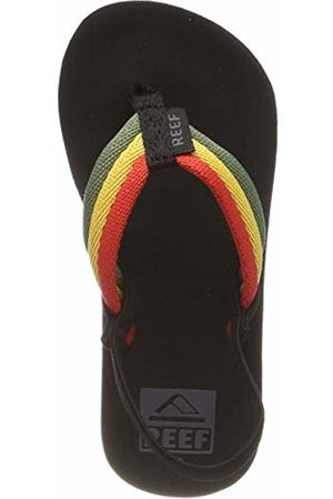 Reef Boys' Little Ahi Beach Flip Flops