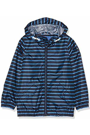 Joules Boy's Rowan Coat, (Navy Stripe Navblustrp)