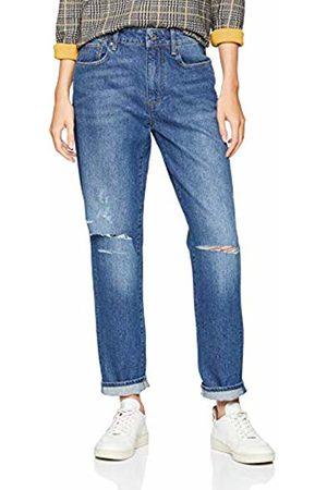 G-Star Women's 3301 Saddle Mid Waist Boyfriend Jeans