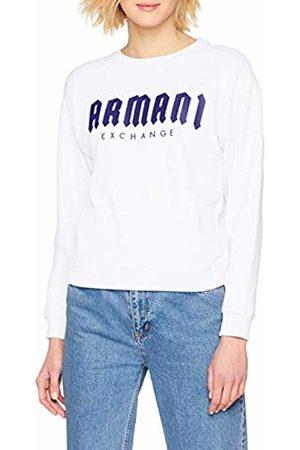 Armani Women's Gothic Writing Sweatshirt, (Opt W/True BLU 6104)