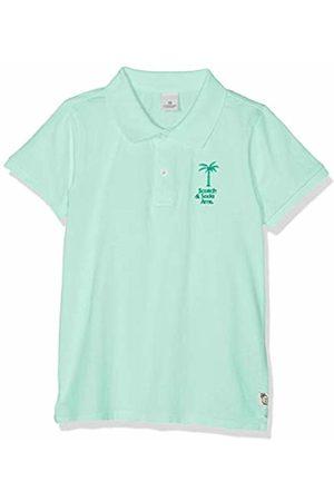 Scotch&Soda Shrunk Boy's Garment Dyed Polo in Jersey Quality Shirt