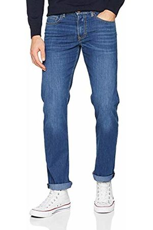 Mac Jeans Men's Arne Straight Jeans, (Mid Authentic Used H430)