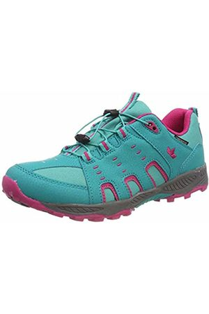 LICO Girls' Apachi Low Rise Hiking Shoes, Turquoise Tuerkis/