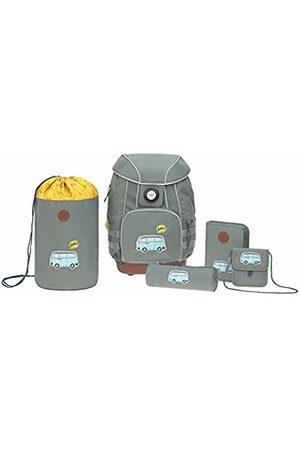 LÄSSIG Adventure Bus Schoolbag Set