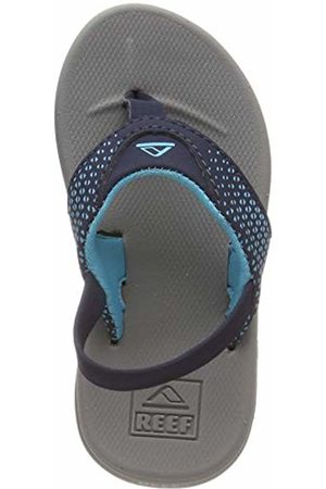 Reef Boys' Little Rover Flip Flops, ( /Navy Gnv)
