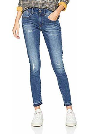 G-Star Women's Lynn Mid Waist Skinny Ripped Ankle Jeans