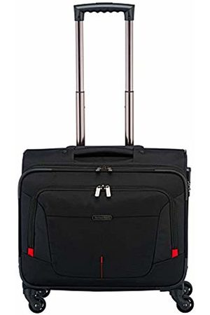 """Elite Models' Fashion Organisiert verpackt: Mehrteilige Business-Gepäckserie """"@Work"""" für Ihre erfolgreich Geschäftsreise Roller Case 45 Centimeters 32 (Schwarz)"""