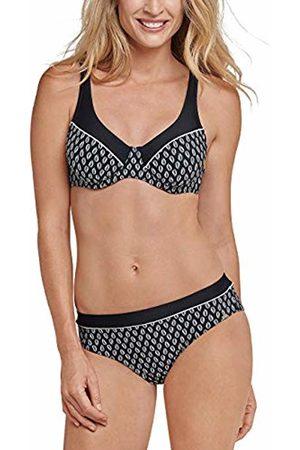 Schiesser Women's Aqua Bügel Bikini/Midi (Schwarz 000)