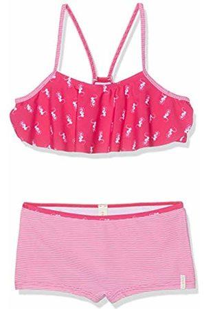 Esprit Girl's Seahorse Beach Mg Bustier +hp Swimwear Set, ( Fuchsia 660)