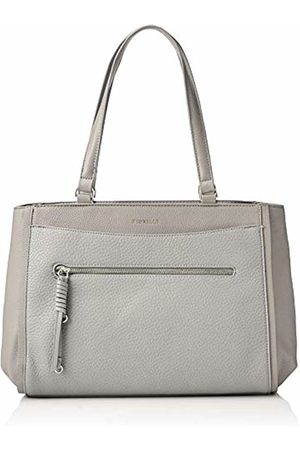 Fiorelli Womens Finchley Canvas and Beach Tote Bag (Steel)
