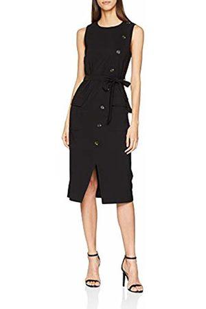 warehouse Women's Button Crepe Dress, ( 77)