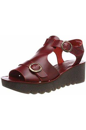 Fly London Women's YAVI458FLY Open Toe Sandals, ( 002)